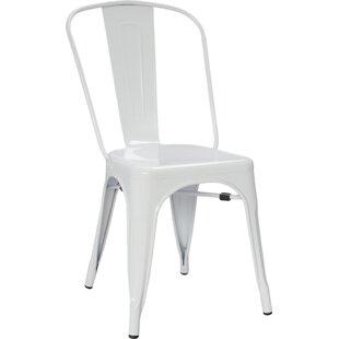 Save  sc 1 st  Wayfair & White Patio Dining Chairs Youu0027ll Love | Wayfair
