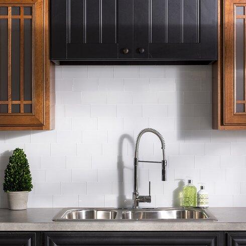 3x6 Subway Tile Kitchen Backsplash Design Ideas