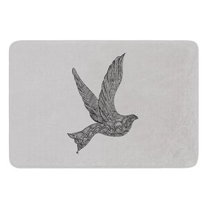 Dove by Belinda Gillies Bath Mat