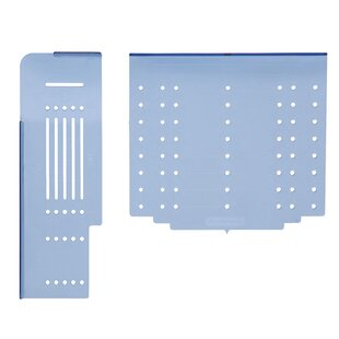 Cabinet Hardware Door And Drawer Installation Template