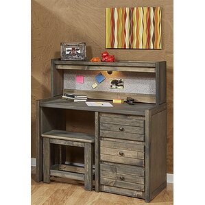 Kania Desk with Hutch by Harriet Bee