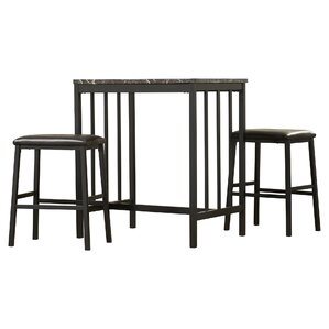 lansdown 3 piece pub table set