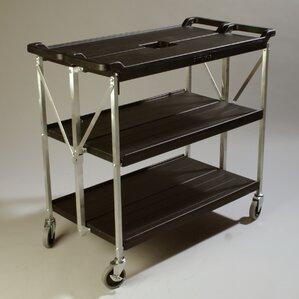 Fold 'N Go? Bar Cart by Carlisle Food Service Products