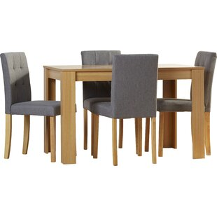 Elbeni Dining Set With 4 Chairs