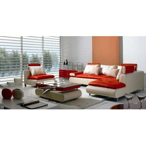 corktown 4 piece sectional sofa set. beautiful ideas. Home Design Ideas