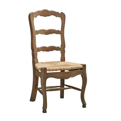 French Ladderback Solid Wood Dining Chair (Set Of 4)