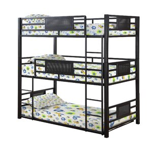 Bohanan Triple Bunk Bed by Zoomie Kids
