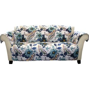 Dixon Box Cushion Sofa Slipcover by Three Posts
