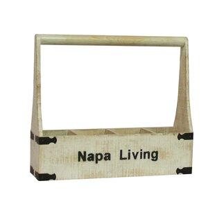 Napa Living 4 Bottle Tabletop Wine Rack