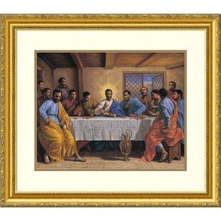 Last Supper Framed Art Wayfair