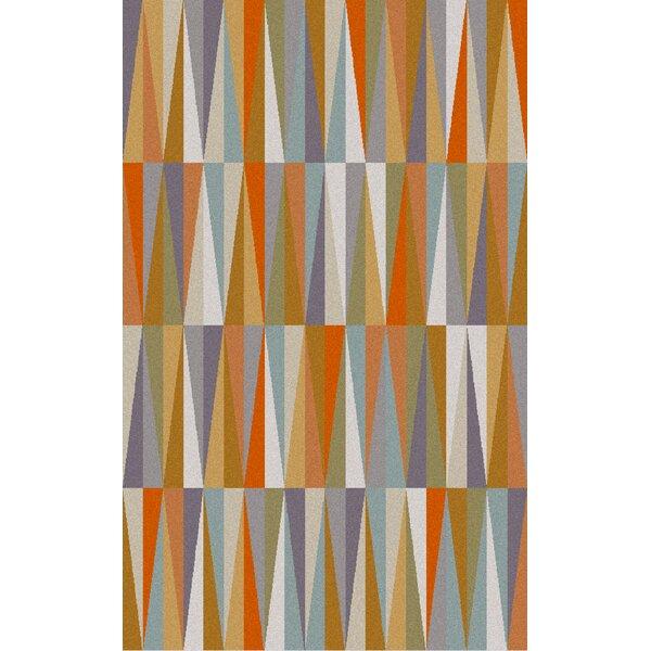 Bathroom Accessories Vaughan varick gallery vaughan orange area rug & reviews | wayfair