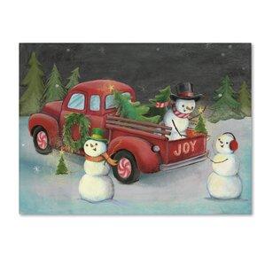 Christmas Wall Art Amp Paintings You Ll Love Wayfair
