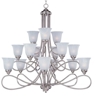 Norwood 15-Light Shaded Chandelier