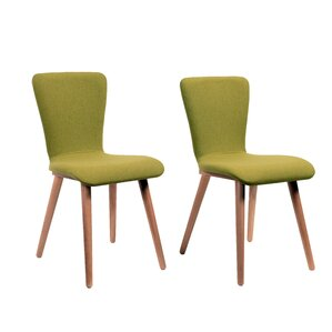 Perla Upholstered Dining Chair (Set of 2) by Corrigan Studio