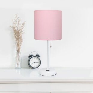 270c62b591bde Fuschia Lamp | Wayfair