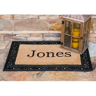 src doormats mat entrance withoutzoom door t fiber monogrammed coir outdoor natural pdpmain mats doormat main