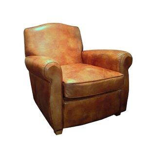 Superb Vassar Top Grain Leather Club Chair