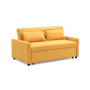 Fabric Modern Convertible Sleeper Sofa