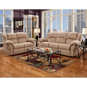 Aruba 2 Piece Living Room Set by Roundhill Furniture