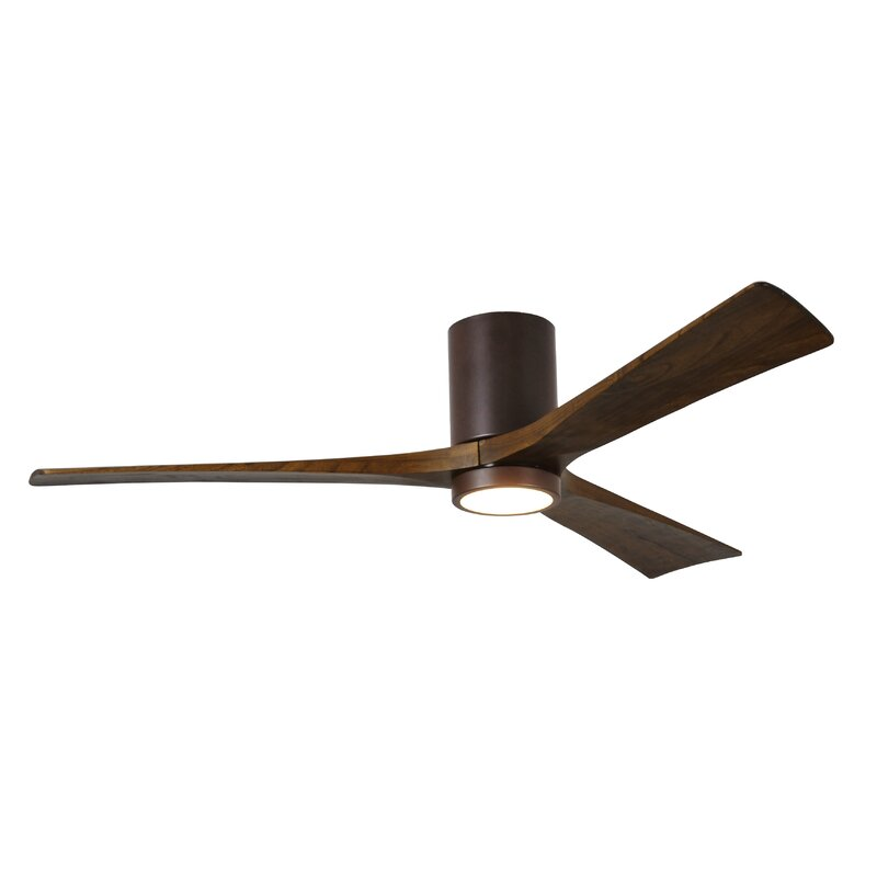 "Wade Logan 60"" Rosalind 3 Blade Hugger Ceiling Fan With"