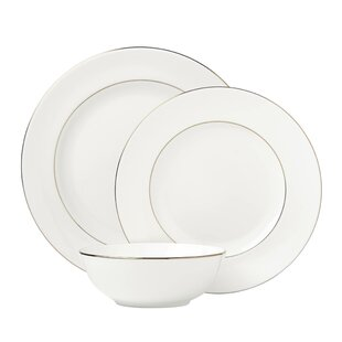 Continental Dining 3 Piece Bone China Place Setting Set Service For 1