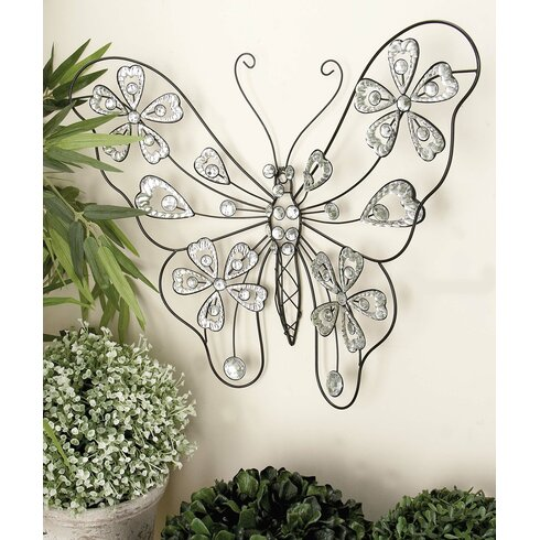 Good Metal Butterfly Wall Décor