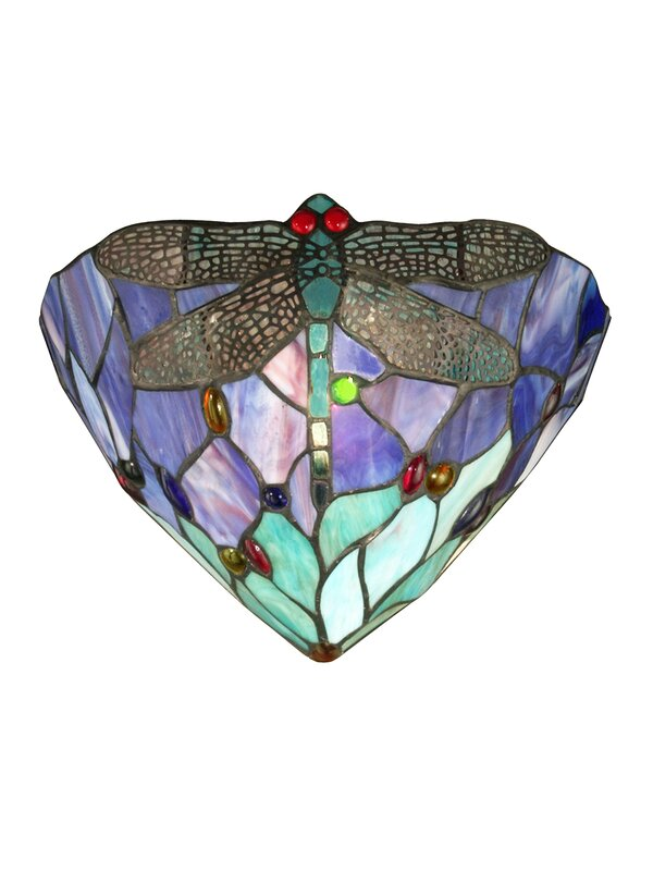 Dragonfly Jewel 1-Light Wall Sconce