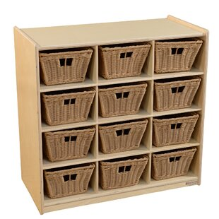 12 Compartment Cubby With Bins