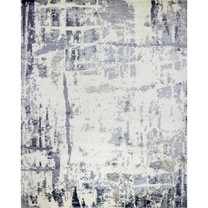 Kaylee Handmade Ivory/Grey Area Rug