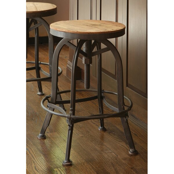 Trent Austin Design Southbridge Adjustable Height Swivel Bar Stool u0026 Reviews | Wayfair  sc 1 st  Wayfair : adjustable swivel stools - islam-shia.org