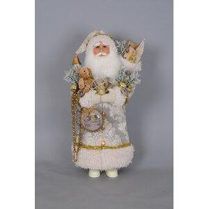 Christmas Greetings Santa Figurine