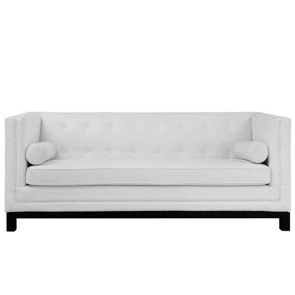 Modway Stately Leather Chesterfield Sofa U0026 Reviews | Wayfair