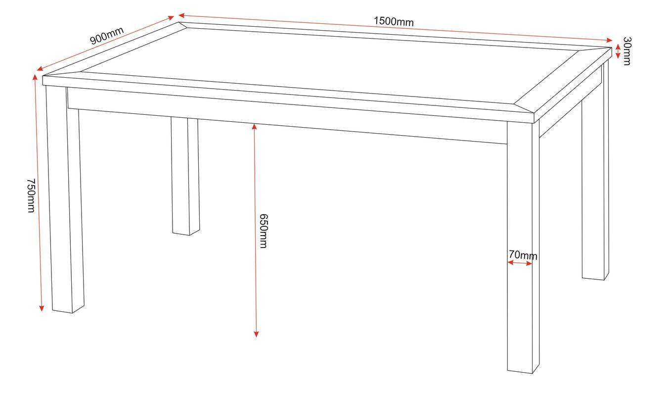 riley ave essgruppe samira mit 6 st hlen bewertungen. Black Bedroom Furniture Sets. Home Design Ideas