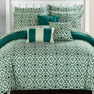 Sabrina 10 Piece Reversible Comforter Set