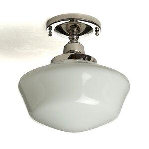 Fredericksen 1-Light Semi Flush Mount