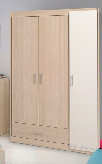 Dewey 3 Door Wardrobe | Wayfair