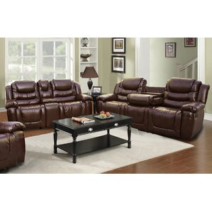 Ottawa 2 Piece Leather Living Room Set by Beverly Fine Furniture