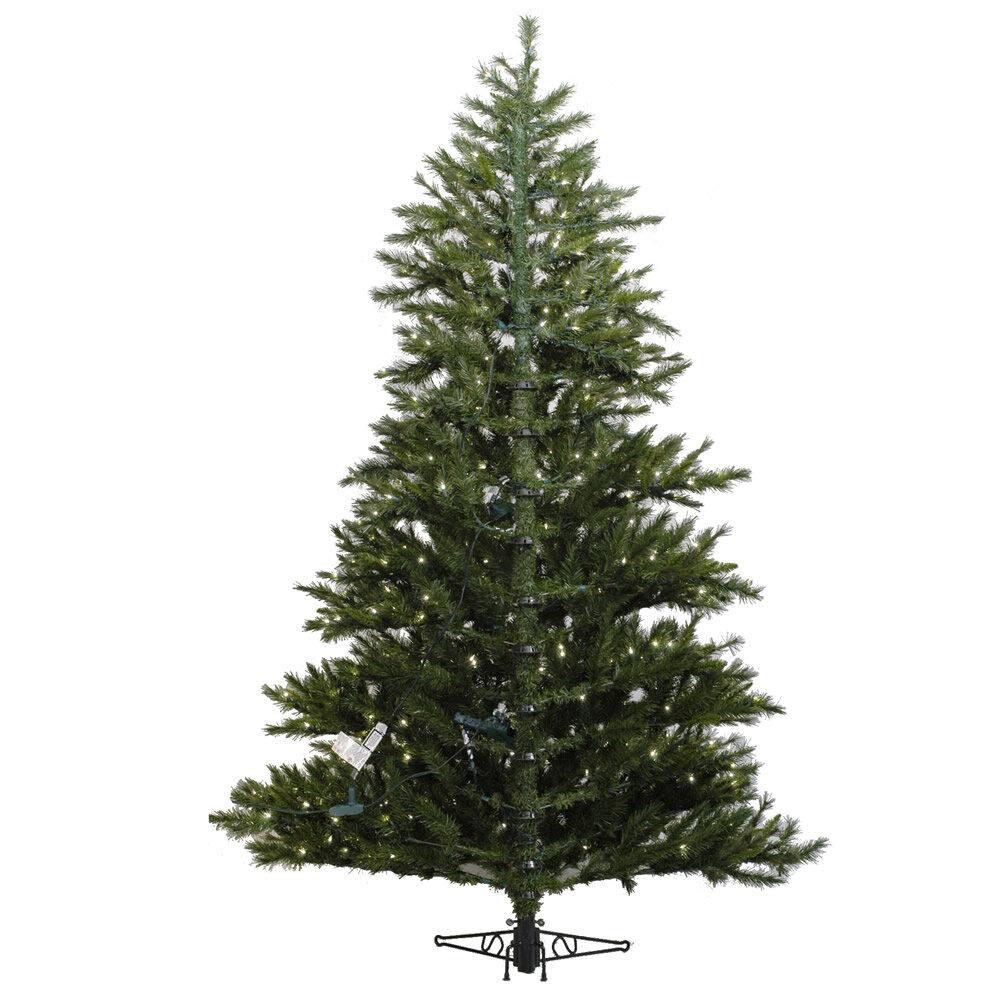 Vickerman Minnesota Pine Westbrook 7 5 Green Artificial Half Christmas Tree With Stand Reviews Wayfair