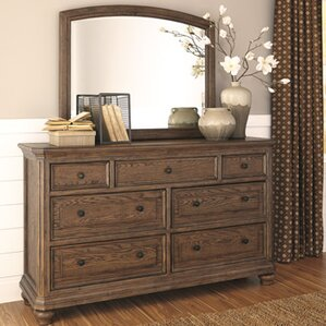Rosella 7 Drawer Dresser with Mirror by Darby Home Co