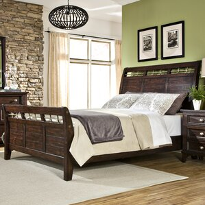 Haven Sleigh Bed by Imagio Home by Int..