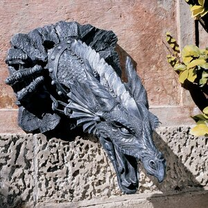 Sir Gawain's Dragon Statue