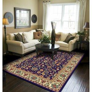 Kulik Traditional Oriental Indoor/Outdoor Area Rug
