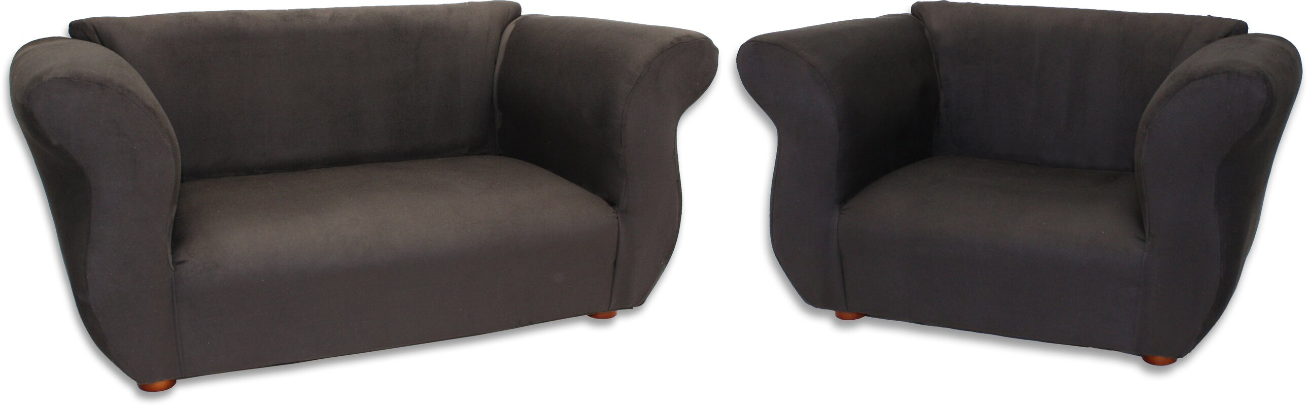 Keet Fancy Piece Kids Sofa And Chair Set Reviews Wayfair