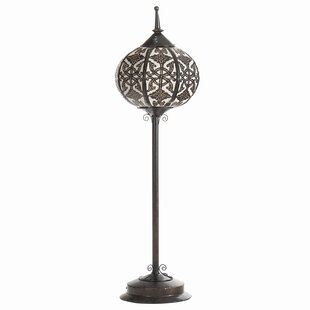 Oriental floor lamps wayfair oriental steel 435 floor lamp aloadofball Gallery