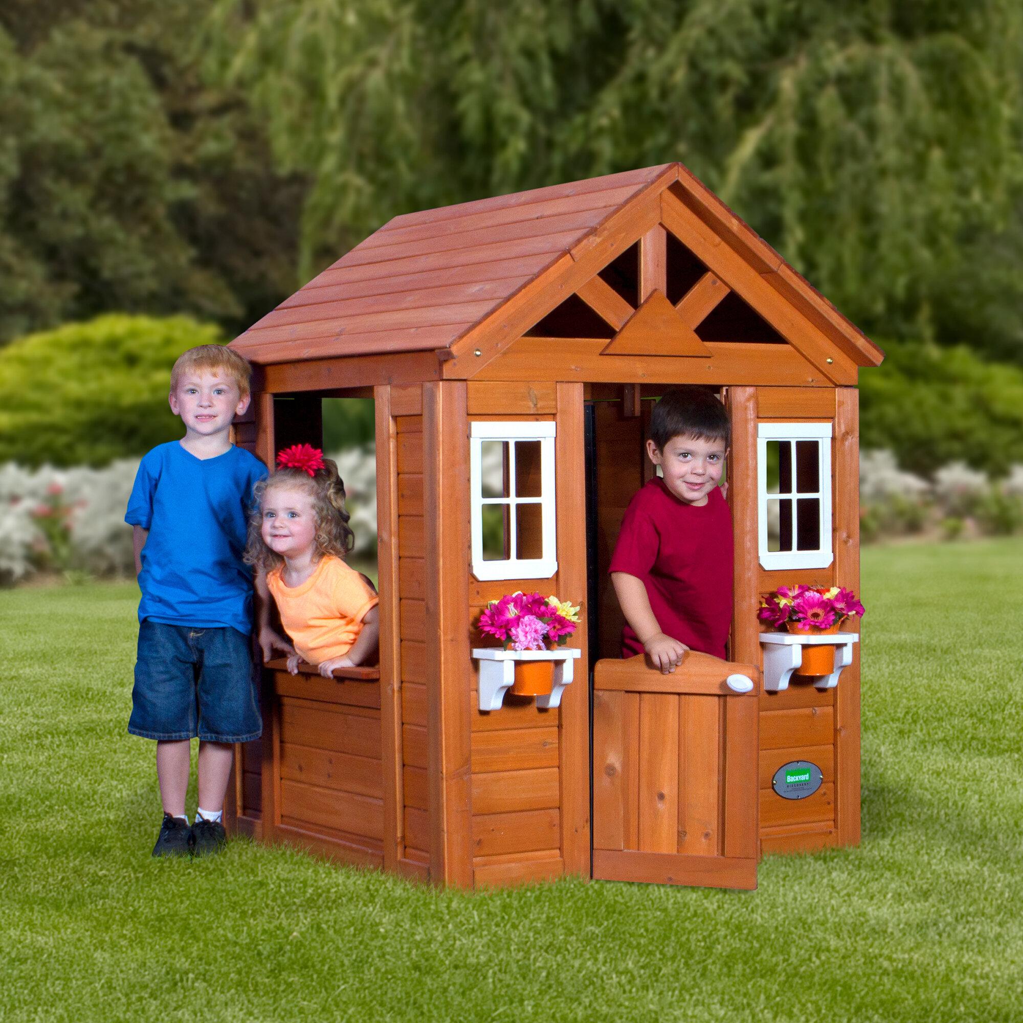 Backyard Discovery Timberlake Playhouse u0026 Reviews