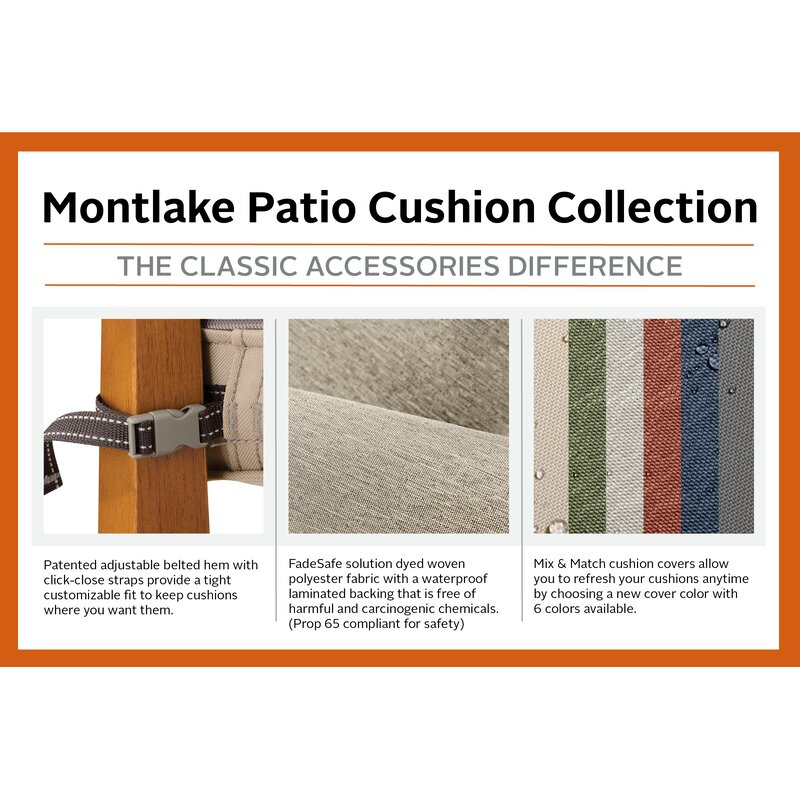 Water Resistant Patio Bench Cover