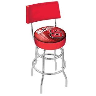NCAA 30 Swivel Bar Stool