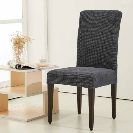 Stupendous The Raised Dots Stretch Box Cushion Dining Chair Slipcover Download Free Architecture Designs Embacsunscenecom