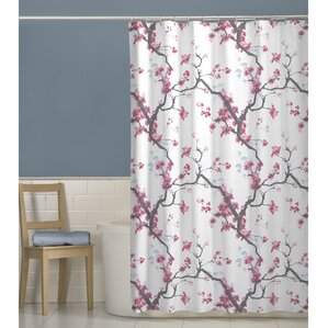 purple and brown shower curtain. Shower Curtain Magenta  Wayfair