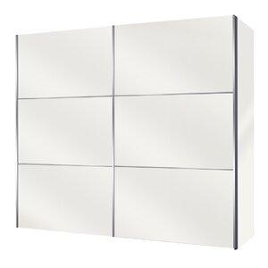 Schwebetürenschrank Solutions Bianco, 216 cm H x 275 cm B x 68 cm T von Express Möbel